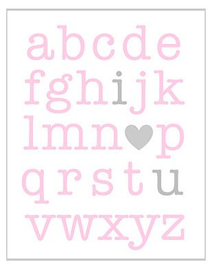 """free printable valentines- or in the girls' room because we're always signing """"I love you"""" and doing the """"I love you"""" hand squeeze (squeeze 3 times!)"""