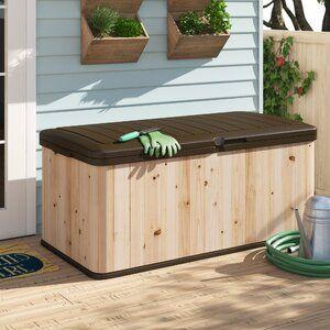Home Bar In 2020 Storage Shed Kits Deck Box Cedar Deck
