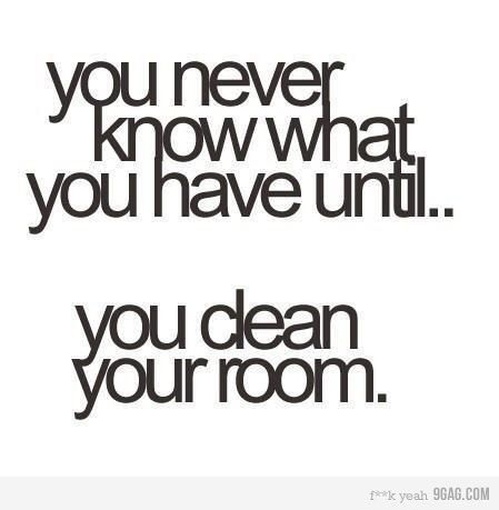 you never know...
