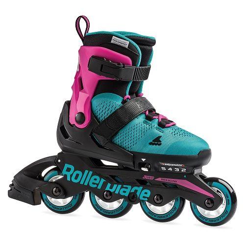Lyzworolki Rollerblade Microblade G Jr 7958100 Rollerblade Roller Skate Shoes Girls Roller Skates