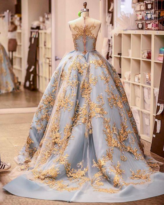 مجموعة من فساتين خطوبة نافشة راقية ومميزة || Ball Gowns for Engagement