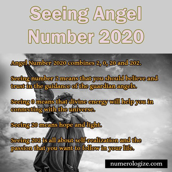 Seeing Angel Number 2020