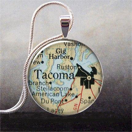 Tacoma Washington pendant