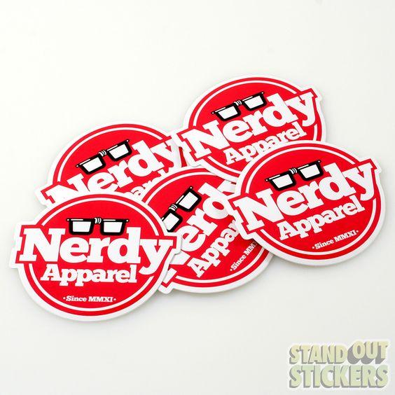 Die Cut Vinyl Stickers StandOut Stickers Die Cut Stickers - Custom cut vinyl stickers