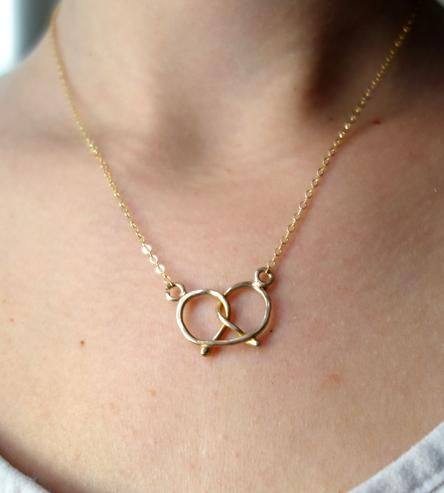 Pretzel Necklace | Women's Jewelry | Rachel Pfeffer Jewelry | Scoutmob Shoppe | Product Detail