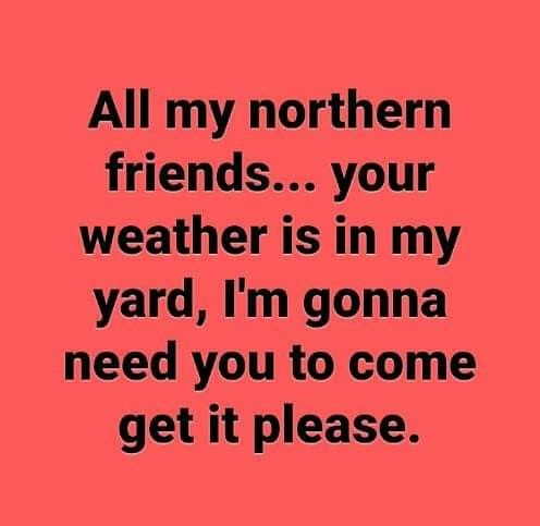 Image result for northern friends come get your weather