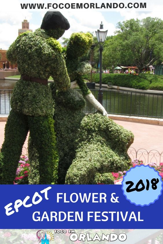 Pinterest - Epcot International Flower & Garden Festival