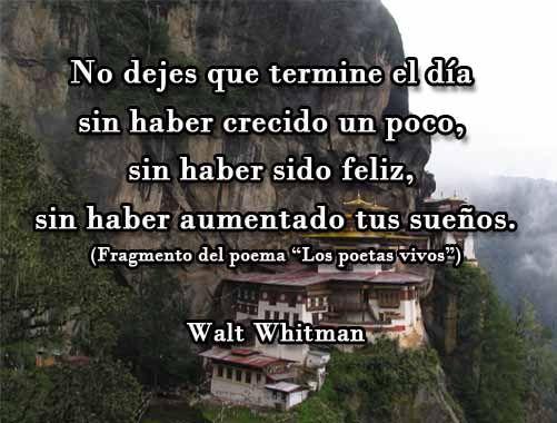 Walt Whitman Poemas Amor Unifeed Club