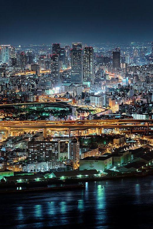 大阪・夜景