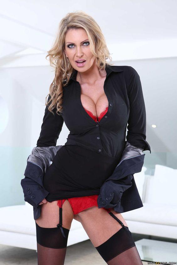 image Stunning big boobs boss angel allwood