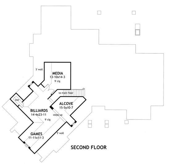 La meilleure vie house plan