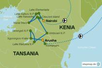 Kenia + Tansania Reise