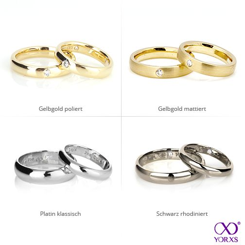 Which Type Of Wedding Rings Do You Prefer? #Yorxs #Trauringe #Hochzeit