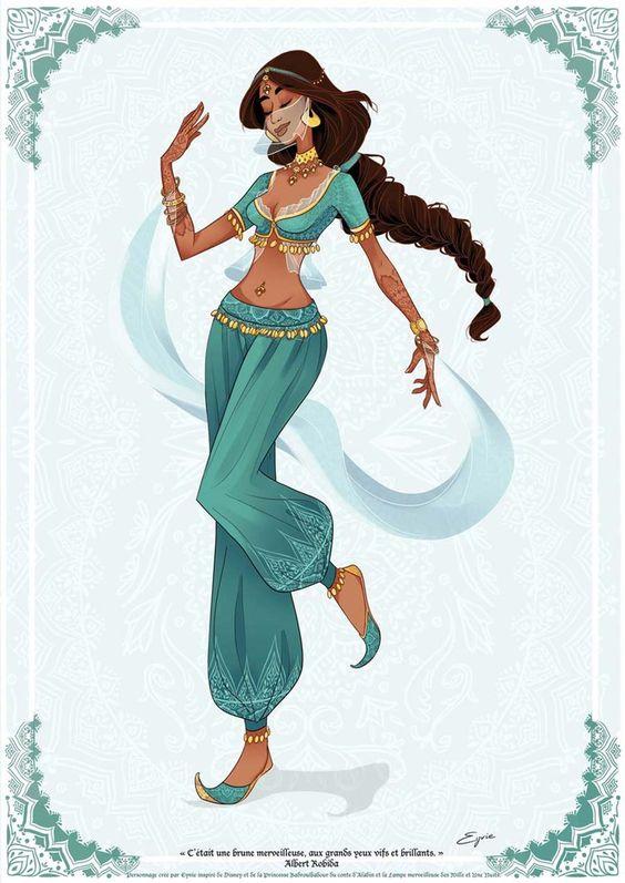 disney-princesashistoricas-jasmine: