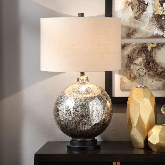 Mercury Glass Table Lamp Mercury Glass Table Lamp Decorative Floor Lamps Lamp