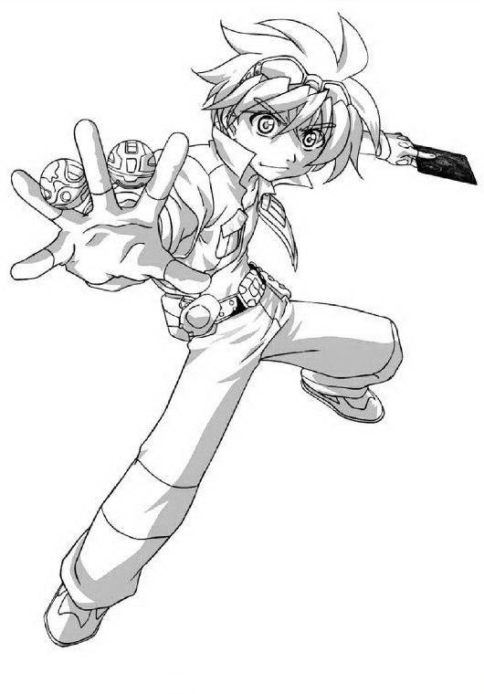 Dibujos Para Pintar Para Ninos Bakugan 2 Bakugan Battle Brawlers Coloring Pages Anime