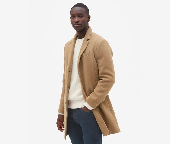 Gap Wool Blend Topcoat