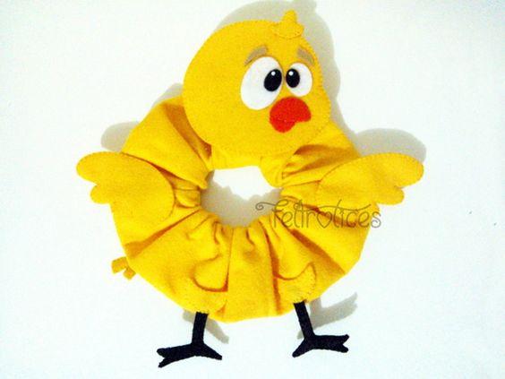 Puppet Pintinho Amarelinho para Lente