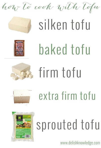 How to cook with tofu, a delicious primer! Tips, techniques and recipes using silken, baked, firm, extra-firm and sprouted tofu. | www.delishknowledge.com