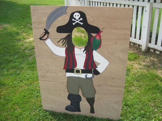 Tolle Idee für Fotos auf der Piratenparty
