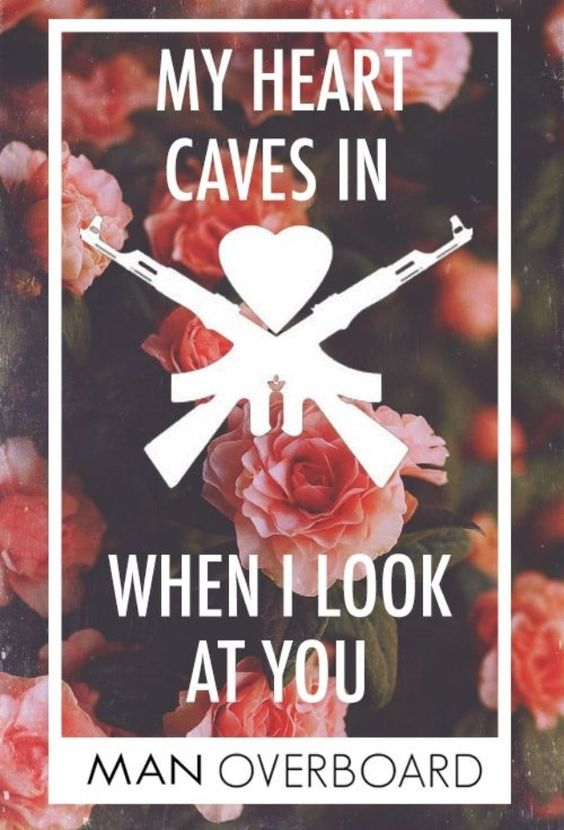 Man Overboard Lyrics Pinterest • The worl...