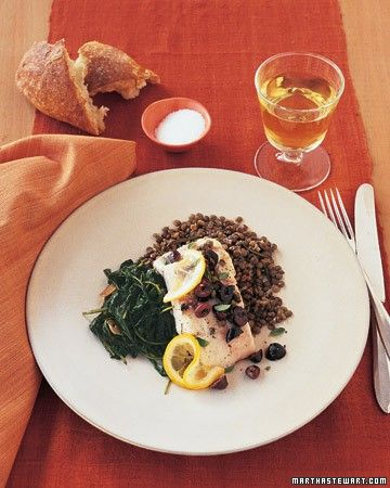 olive oil, and lemon juice. Rosemary-flavored lentils, lightly sauteed ...