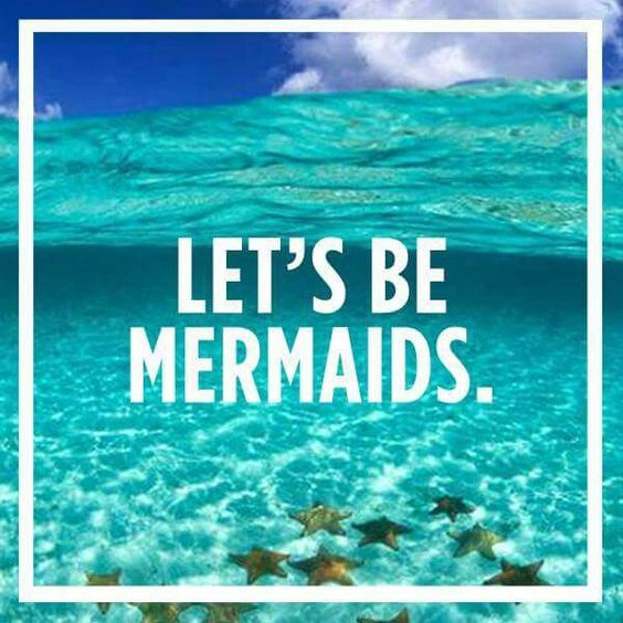 Let's be mermaids!: