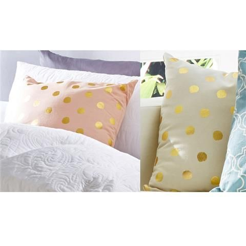 foil Spot Cushion homemaker Kmart Bedroom Inspiration Pinterest Cushions, Products and Gold