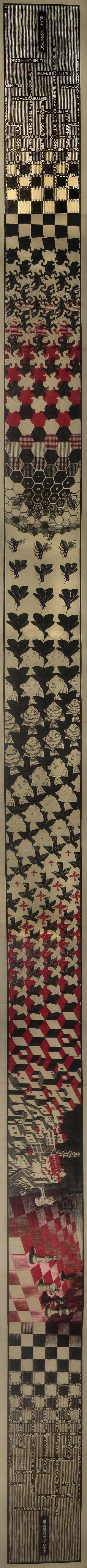 Metamorphosis II - M.C. Escher