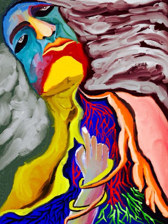'Saliendo del Templo' by Rony.