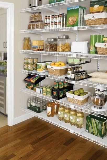 Cocinas sin gabinetes buscar con google alacenas for Organizar cajones cocina