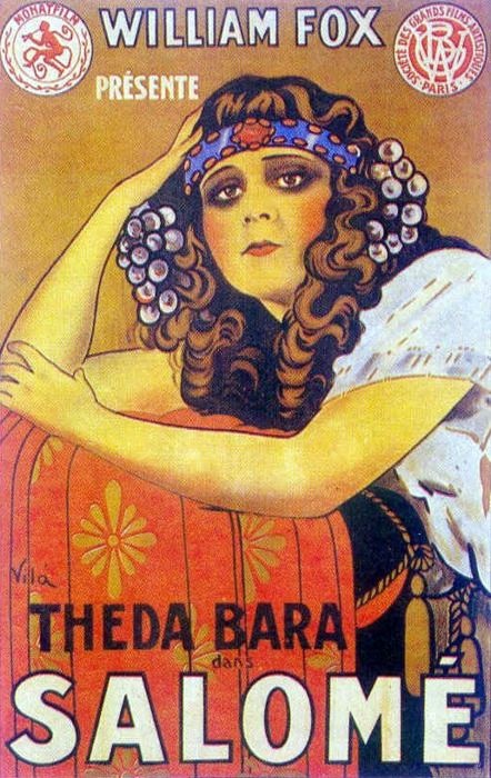 theda bara, #vintage poster, #silent film, #20´s