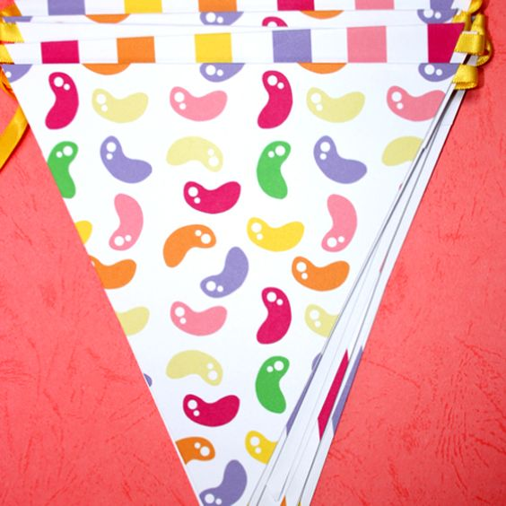 Candy Shop Party Bunting