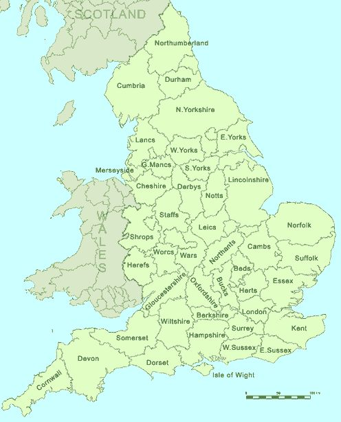 england-counties - Staffordshire and Leicestershire figure into my lineage