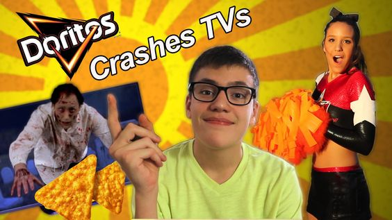 Doritos Crashes TVs !  This is our ad for the video contest:  Doritos Crash the Super Bowl. I hope you like it !  Este é nosso comercial para o concurso: Doritos Crash the Super Bowl. Espero que gostem !