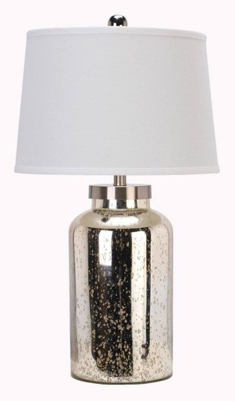 The Niobe Table Lamp (Set Of 2) From Ashley Furniture HomeStore (AFHS.com).  A Gray Tones Ceramic Table Lamp Topped With A Drum Shade And Features Au2026