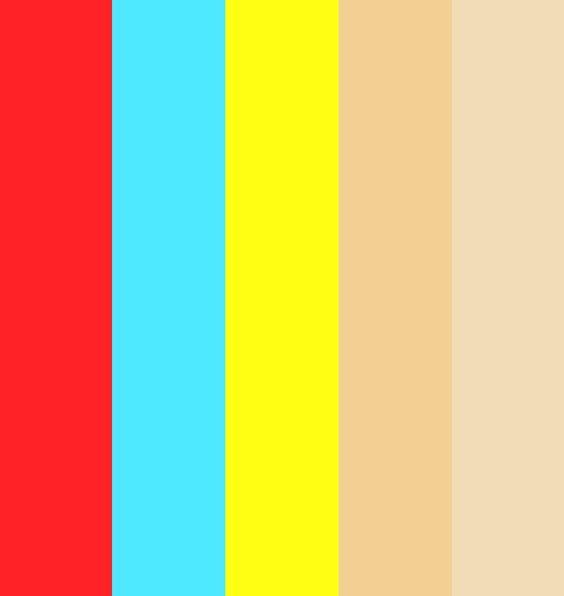 Bright Color Palette | Bright & happy!