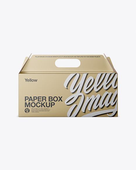 Download Metallic Paper Box Mockup Front View In Box Mockups On Yellow Images Object Mockups Psd Mockup Template Free Psd Mockups Templates Mockup Free Psd
