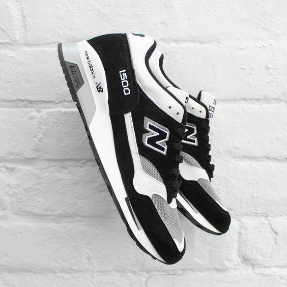 new balance 1500 black white grey