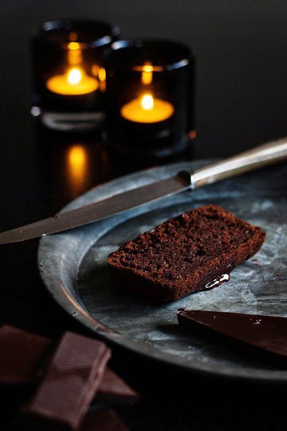 Schokoladenkuchen mit Zucchini von Seelenschmeichelei.blogspot.de