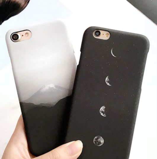 Grossartig Jener Fujisan Crescent Moon Phone Case Von Hhotaru Apple Phone Case Iphone Phone Cases Iphone Phone