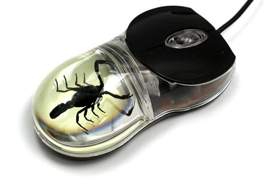 Black Scorpion Computer Mouse