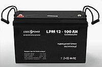 Аккумуляторная батарея LogicPower 12В-100А LPM 12 - 100 AH