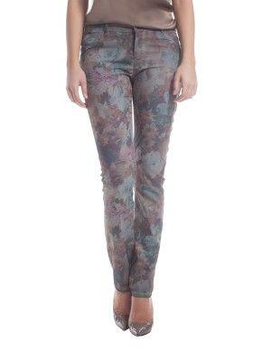 Jeans skinny stampati Fiorella Rubino