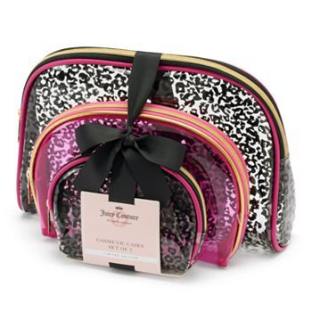 Juicy Couture 3-pc. Cosmetic Case Set - Limited Edition