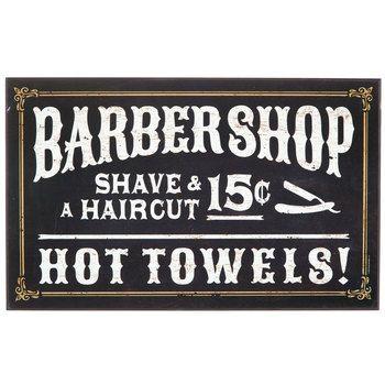 oldfashioned barber shop mdf sign vintage modern french
