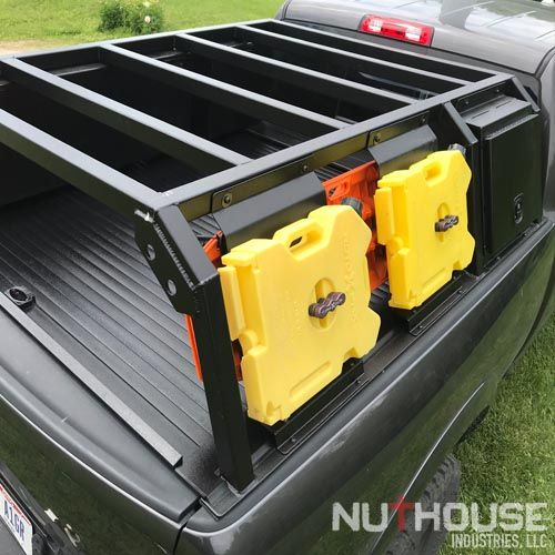 Nutzo Tech 1 Series Expedition Truck Bed Rack Nuthouse Industries Overland Truck Expedition Truck Truck Bed