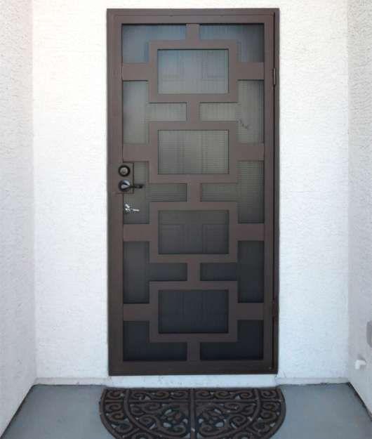 Security Doors Artistic Iron Works Iron Security Doors Security Door Metal Doors Design