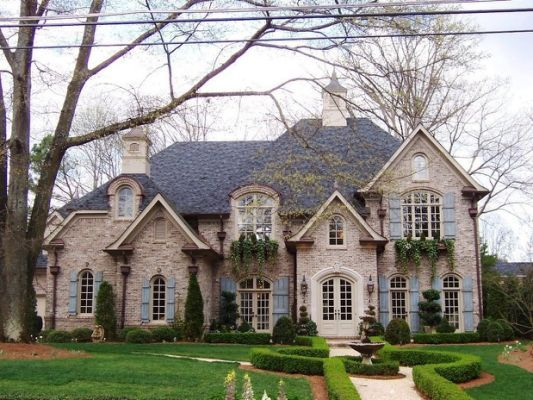 Gutter Shutter Reviews Traditional French Country Exterior French Country House House Exterior
