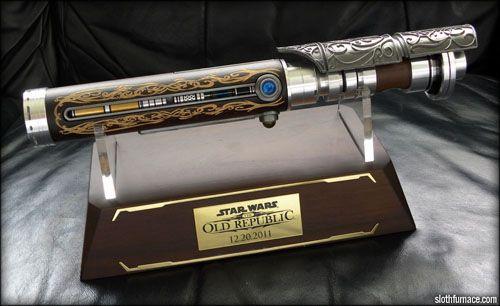 star wars the old republic efx lightsaber